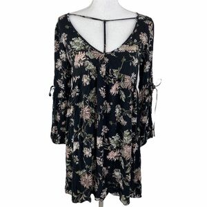 American Eagle Outfitters Babydoll Dress Black